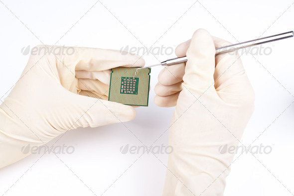 micro repair - Stock Photo - Images