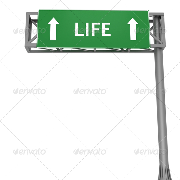Life ahead - Stock Photo - Images