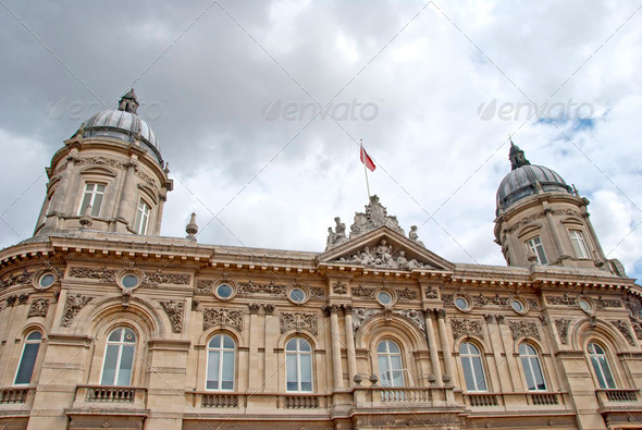 Historic Civic Building - Stock Photo - Images