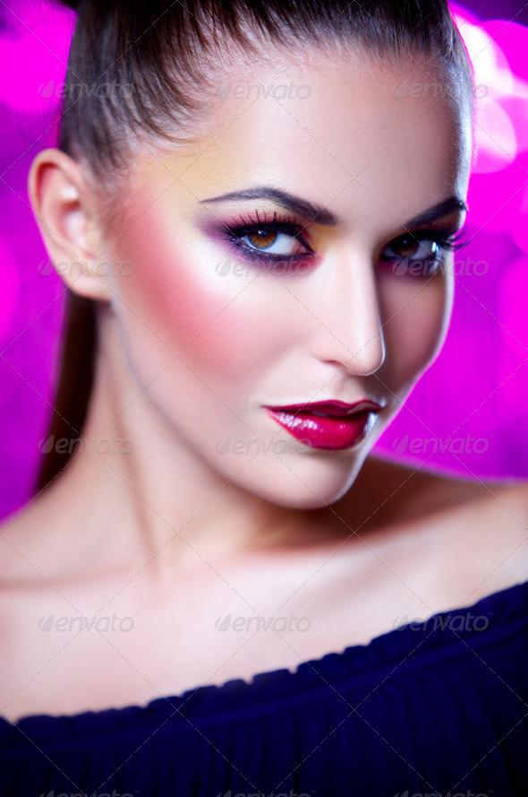 Sexy Crimson - Stock Photo - Images