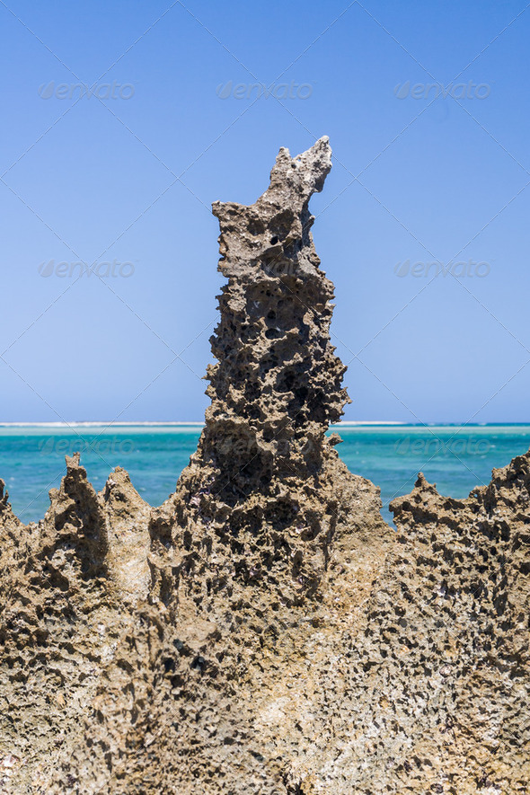 Andavadoaka lagoon - Stock Photo - Images