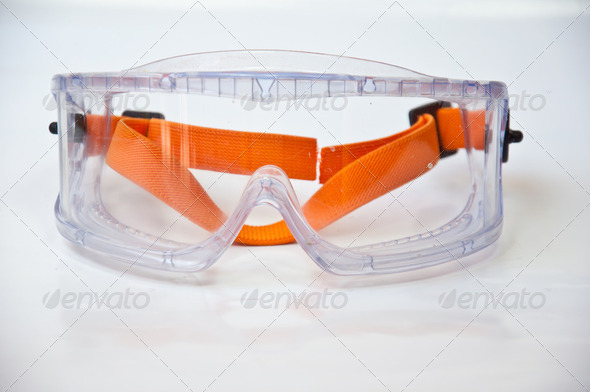 Protectin eyeglass - Stock Photo - Images