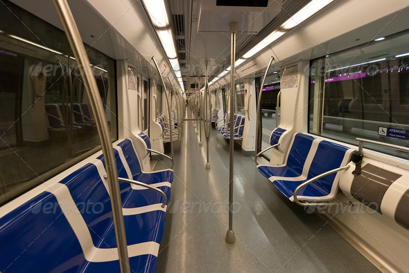 Subway car - Stock Photo - Images