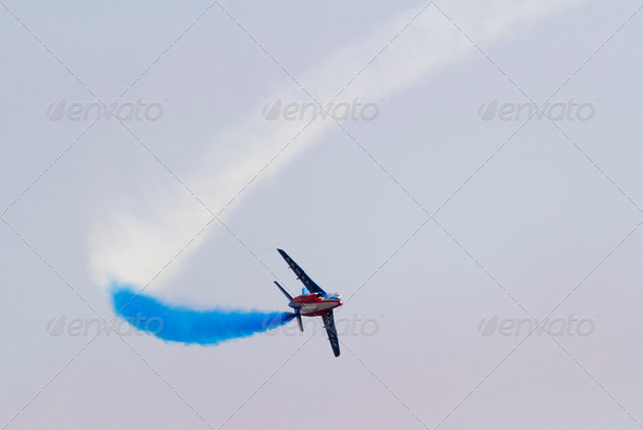 Swiss Air Patrol - Stock Photo - Images