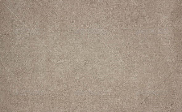 Stucco brown wall - Stock Photo - Images