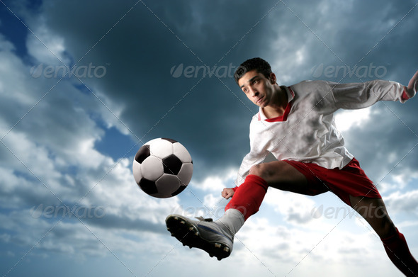 Soccer player - Stock Photo - Images