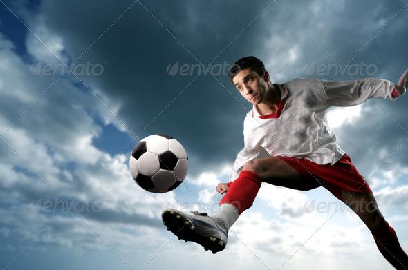 PhotoDune Soccer player 2243019