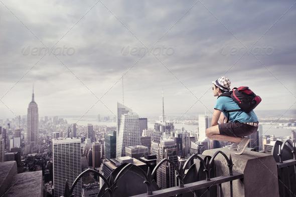 Tourist - Stock Photo - Images