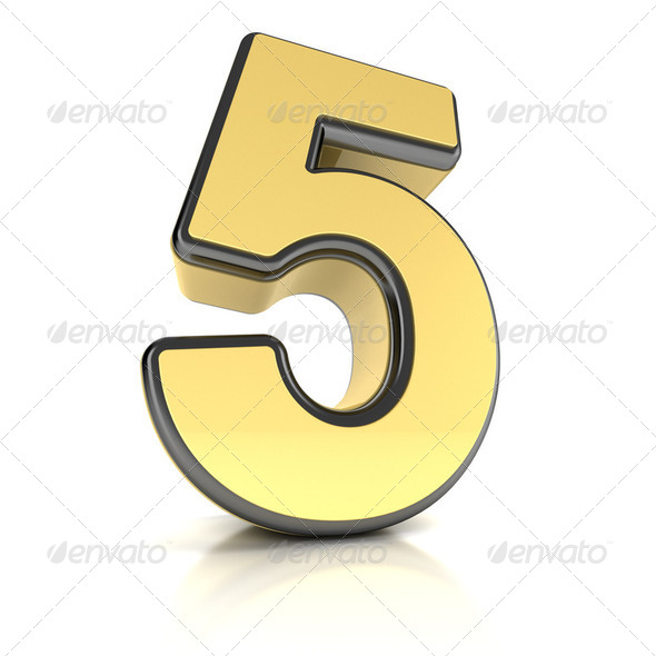 Number Five - Stock Photo - Images