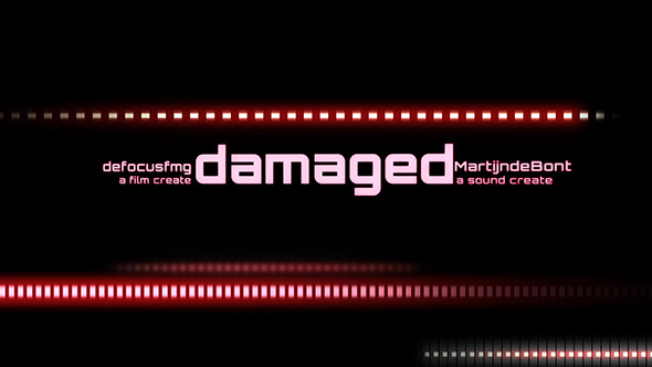 After Effects Project - VideoHive Damaged 3340360