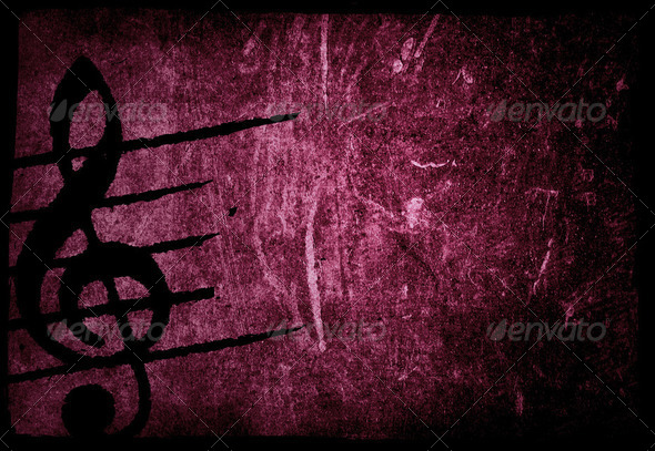 music grunge backgrounds - Stock Photo - Images