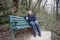 Mature man sitting on a bench - PhotoDune Item for Sale