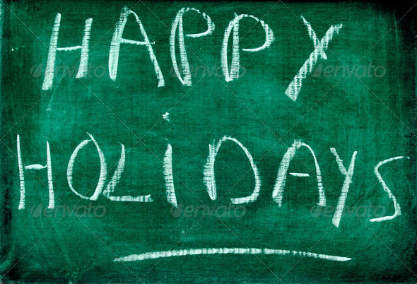 happy holidays - Stock Photo - Images