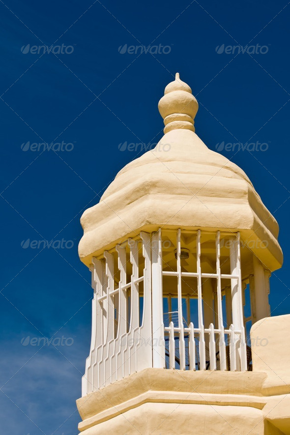 Old style architecture in Malga, Spain - Stock Photo - Images