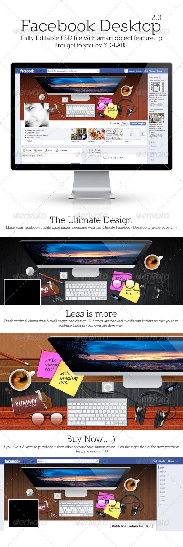 GraphicRiver FB Desktop 2.0 3341012
