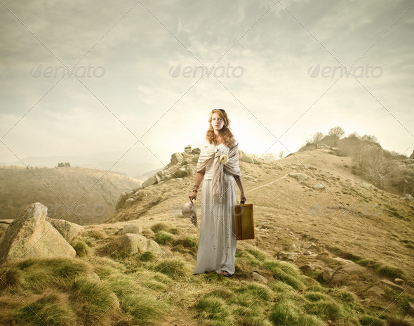Trip to the mountains - Stock Photo - Images