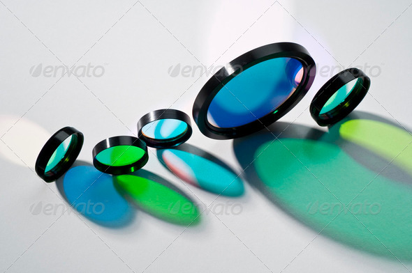 Glass filters - Stock Photo - Images