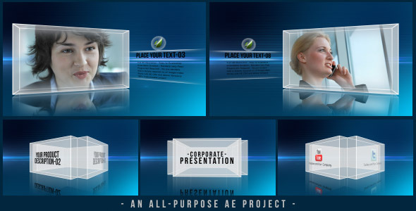After Effects Project - VideoHive Corporate Presentation 3341435