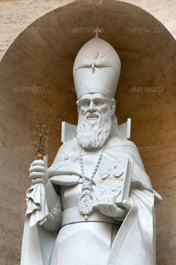 Statue of Gregorius - Stock Photo - Images