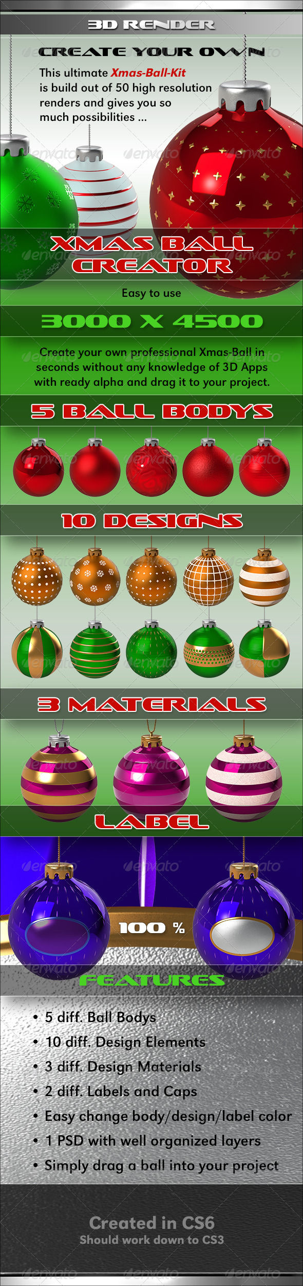 GraphicRiver Xmas Ball Creator 3342266