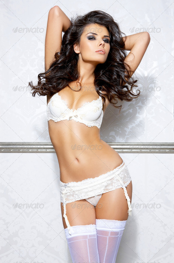 Sexy in lingerie - Stock Photo - Images