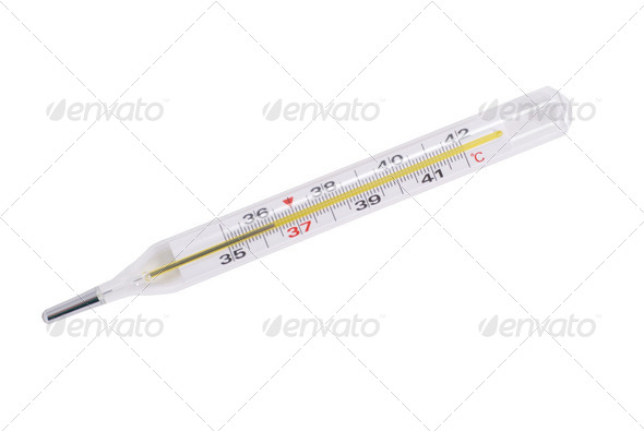 Medical thermometer - Stock Photo - Images