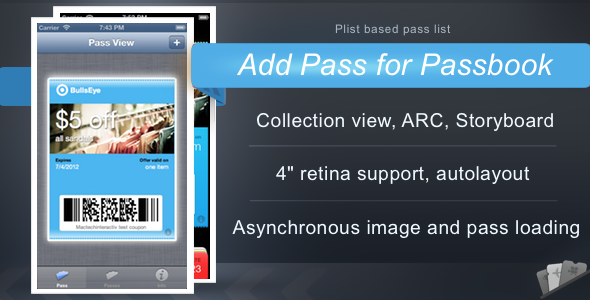 CodeCanyon Add Pass for Passbook 3342413