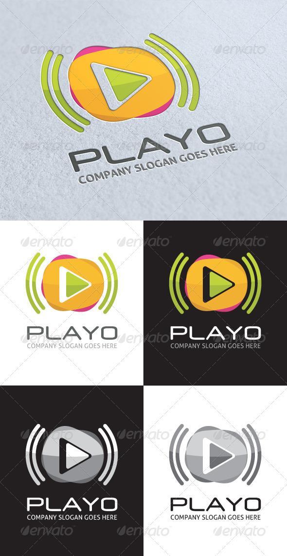 GraphicRiver Playo Logo 3342654