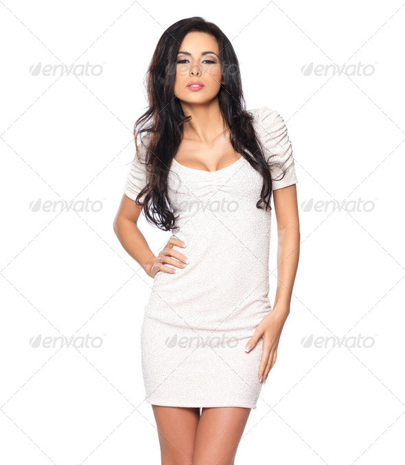 Sexy in Dress - Stock Photo - Images