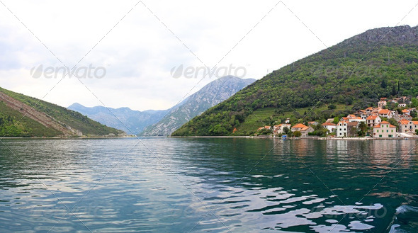 Boka Kotorska bay - Stock Photo - Images