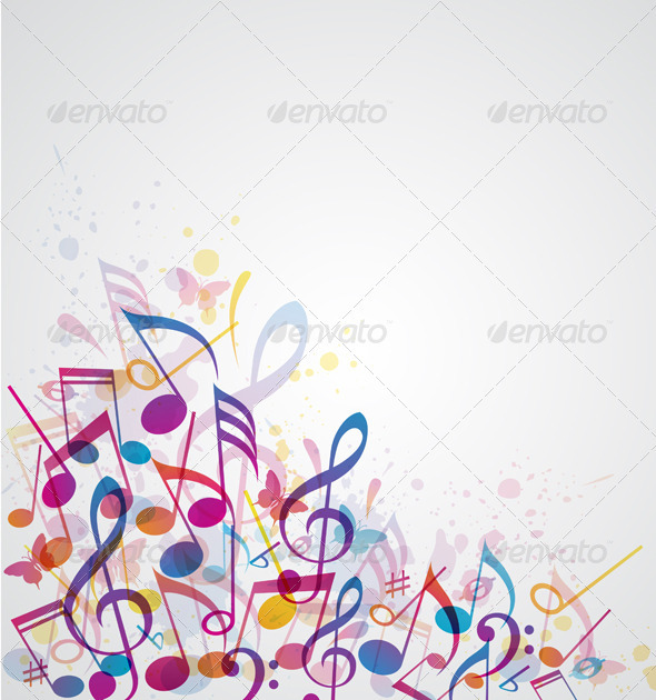 GraphicRiver Music Abstract Background 3342822