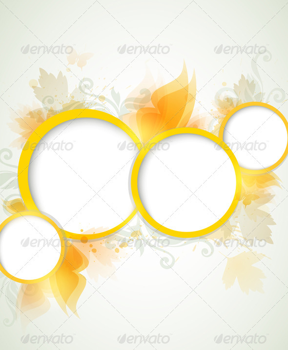 GraphicRiver Abstract Yellow Background 3342930