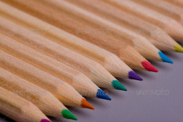 Colour pencils - Stock Photo - Images