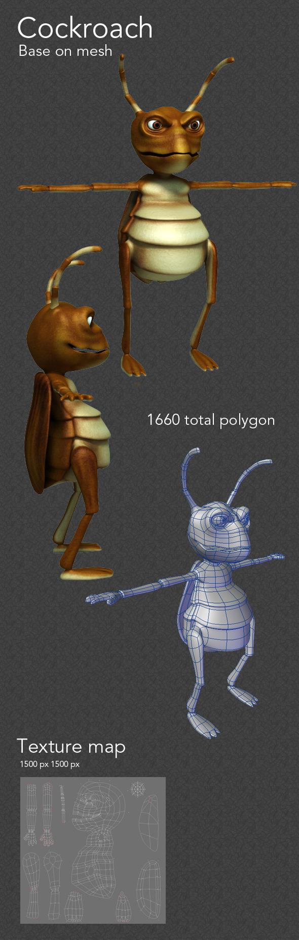 3DOcean cockroach 3343264