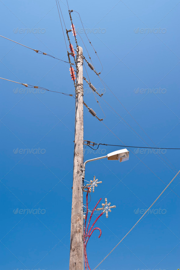 Power Poles - Stock Photo - Images