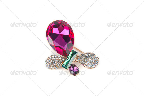 jewelry hairpin-butterfly - Stock Photo - Images
