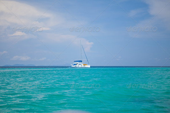 Speed Boat - Stock Photo - Images