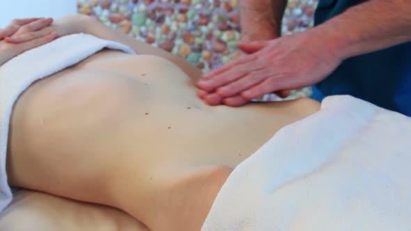VideoHive Stomach Massage 18975177