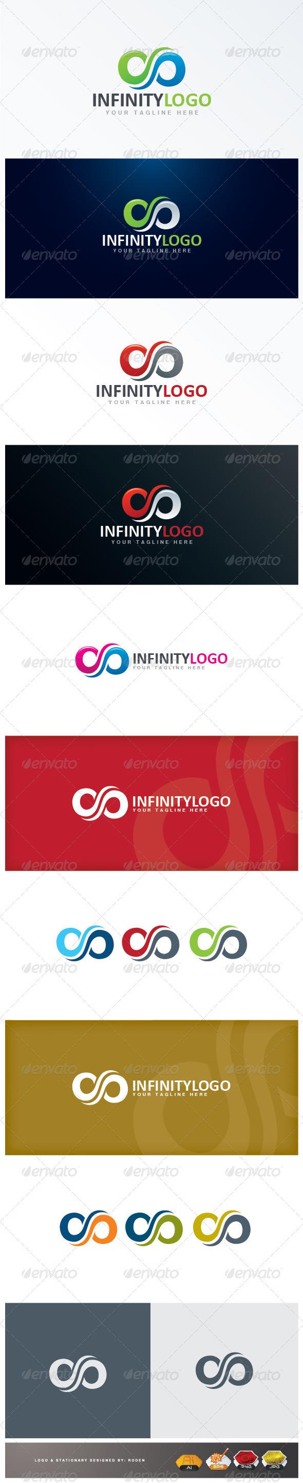 GraphicRiver Infinity logo 3344154