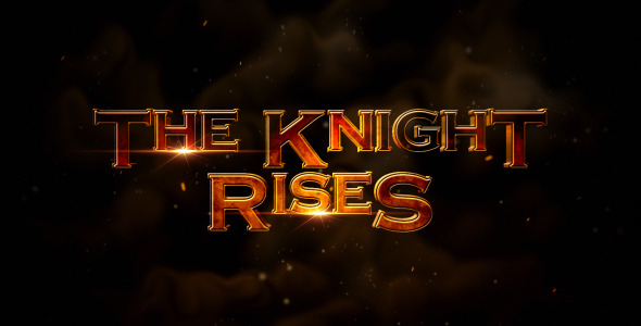 VideoHive The Knight Rises Cinematic Trailer 3345066