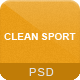 Clean Sport - 18 PSD Sport Template - ThemeForest Item for Sale