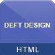 Deft Design - Light And Dark Responsive Template - ThemeForest Item for Sale