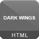 Dark Wings - Responsive Html Template - ThemeForest Item for Sale