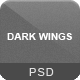 Dark Wings - Dark Psd Template - ThemeForest Item for Sale