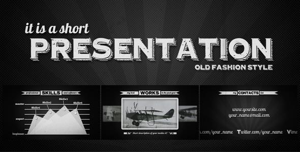 VideoHive Retroscope 3345622