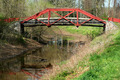 Small bridge over creek