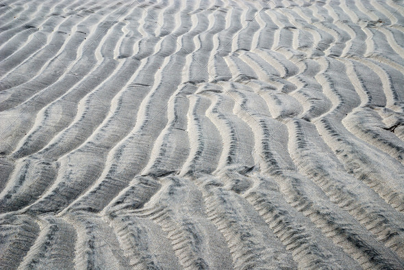Sandy waves of famous Soroya's beaches - Stock Photo - Images