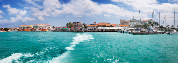 Oranjestad, Aruba - Stock Photo - Images