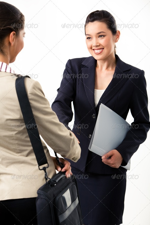Handshaking - Stock Photo - Images