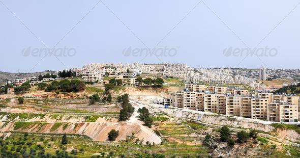 Bethlehem panorama - Stock Photo - Images